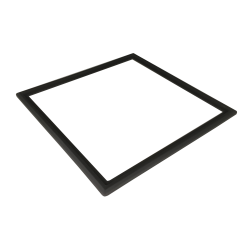 Silicone frame for integration