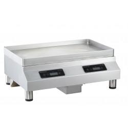 Counter-top induction plancha 2 zones GLP