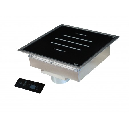 Drop-in induction remote control panel GL 3000W