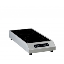 Induction posable 2 zones GLN2
